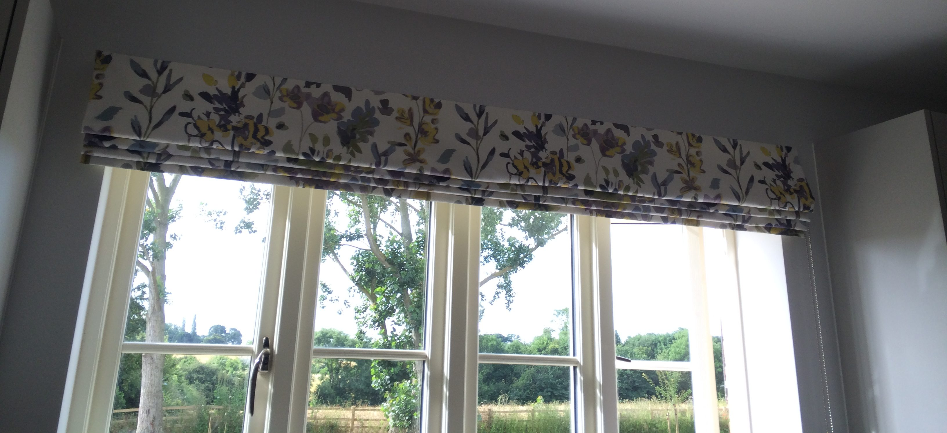 Floral Window Blind