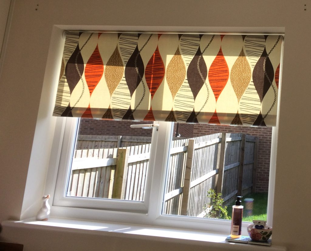 Colourful window blind